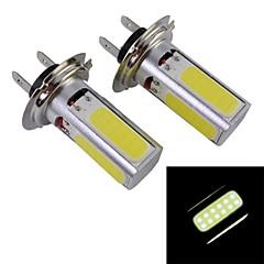 Недорогие Противотуманные фары-SO.K H7 Автомобиль Лампы 10 W COB 1200 lm 4*2 Противотуманные фары