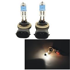 Недорогие Автомобильные фары-2pcs 880/888 Автомобиль Лампы 100W 1100lm Налобный фонарь / Противотуманные фары