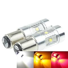 preiswerte LED Autobirnen-Sencart 2 stücke 30 watt 1157 auto blinker lampe 6x3535 ac / dc 12-24 v