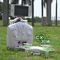 드론 Cheerson cx30w 4CH 6 축 2.5G 카메라 내장 RC항공기 리턴용 1 키 / 헤드레스 모드 화이트