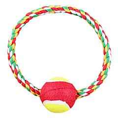 お買い得  犬用おもちゃ-犬用品 おもちゃ 噛む用おもちゃ ロープ / ボーン シザル麻