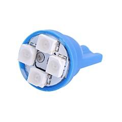Недорогие Освещение салона авто-SO.K T10 Автомобиль Лампы 4W W SMD 3528 120lm lm 4 Внутреннее освещение