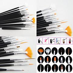 15 Kits de decoración de uñas Nail Kit de herramienta de la manicura del arte maquillaje cosmético Uña Arte