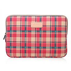 preiswerte Laptop Taschen-lisen 10 '' 11 '' 12 '' rote Karo-Muster Schutzhülle Laptop Tasche