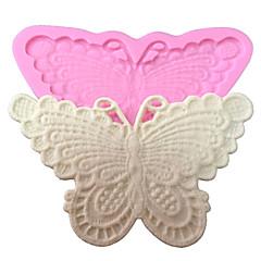 preiswerte -Kuchen dekorieren Form Schmetterling Silikon-Spitzenform für Fondant Süßigkeiten Handwerk Schmuck Schokolade pmc Harz Ton