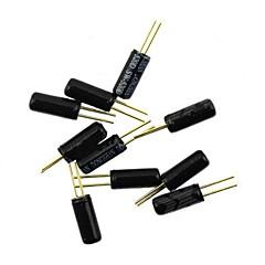 お買い得  アクセサリー-ボールスイッチ/角度スイッチ/チルトスイッチ/振動スイッチ - 黒(10個)
