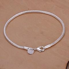 preiswerte Armbänder-Damen Bettelarmbänder - versilbert Schlange Einzigartiges Design, Modisch Armbänder Silber Für Hochzeit / Party / Alltag