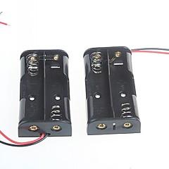 2 csomag az 5. elemtartó elemtartó AA elem 3V (2db)