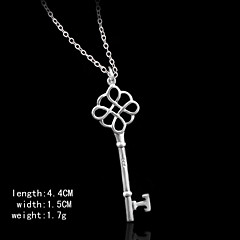 Серебряный ключ формы Кулоны женские Кулоны