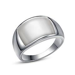 お買い得  指輪-女性用 バンドリング  -  クリスタル, ゴールドメッキ 7 / 8 / 9 シルバー / ゴールデン 用途 結婚式 パーティー 婚約