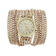Fashion Women's Watch Long Chain Around Three Times Alloy Band Cool Watches Unique Watches