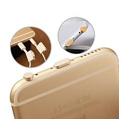 halpa Viikon tarjoukset-kuuloke jack& latausliitäntä anti-pöly pistokkeen asetettu iphone 6 / iphone 6 plus / ipad air2 / ipad Mini3