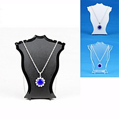 cheap Beads & Jewelry Making-Women's Jewelry Displays Jewelry Transparent Black White Resin Fashion Daily