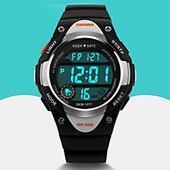 SKMEI Heren Kinderen Sporthorloge Modieus horloge Polshorloge Digitaal horloge Kwarts Digitaal Japanse quartz Kalender alarm Rubber Band