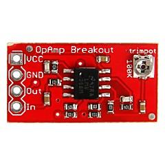 geeetech lmv358 opamp op amp breakout board voor arduino
