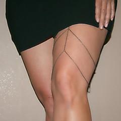Недорогие Женские украшения-мода цепь бедра