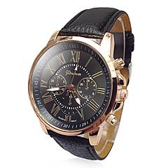 お買い得  大特価腕時計-Geneva 女性用 クォーツ リストウォッチ カジュアルウォッチ PU バンド Elegant / ファッション 白 / ブルー / レッド / グリーン / ピンク