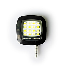 smartphone LED-flitser fill-licht 's nachts met behulp van Selfie verbeteren flitslicht voor iphone / ipad / android / raam telefoon