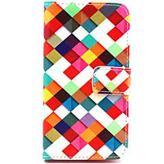 من أجل نوكيا حالة أغط / كفرات محفظة حامل البطاقات مع حامل كامل الجسم غطاء نموذج هندسي قاسي جلد اصطناعي إلى Nokia Nokia Lumia 830 Nokia