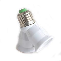 1kpl y-tyypin dual liitin E27 ja E27 lamppu sovitin