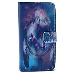 Για Samsung Galaxy Θήκη Πορτοφόλι / Θήκη καρτών / με βάση στήριξης tok Πλήρης κάλυψη tok Ζώο Σκληρή Συνθετικό δέρμα SamsungS6 edge / S6 /