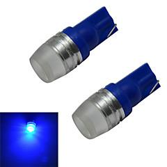 お買い得  LED 電球-50-100 lm T10 デコレーションライト 1 LEDの ハイパワーLED ブルー DC 12V