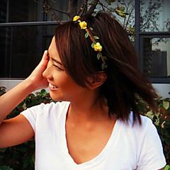 Bruiloft/Dagelijks/Causaal - Haarbanden (Stof , Roos/Wit/Geel/Rood/Blauw/Paars/Roze)