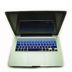 """お買い得  MAC 用キーボード カバー-coosbo®フランス語AZERTY 11.6用のカラフルなシリコンキーボードカバー皮 """"/13.3"""" /15.4 """"/ 17""""MacBook Airのプロ/網膜"""