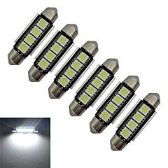 preiswerte LED-Birnen-1.5W 80-90 lm Girlande Lichtdekoration 4 Leds SMD 5050 Kühles Weiß DC 12V