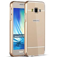 tanie Galaxy A3 Etui / Pokrowce-Kılıf Na Samsung Galaxy Samsung Galaxy Etui Galwanizowane Czarne etui Solid Color Twarde Akrylowy na A9(2016) A7(2016) A5(2016) A3(2016)
