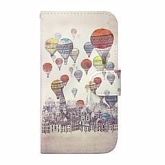 Για Samsung Galaxy Θήκη Θήκη καρτών / Πορτοφόλι / με βάση στήριξης / Ανοιγόμενη tok Πλήρης κάλυψη tok Μπαλόνι Συνθετικό δέρμα SamsungS6