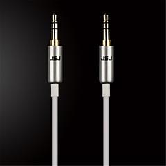 お買い得  ケーブル、アダプター-携帯電話/自動車/家族のためにオスオーディオケーブルにjsj®の3.5mmステレオオス(アソートカラーod3.0mm 2メートル6.56フィート)