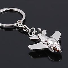porte-clés mini-plan de la mode unisexe en alliage trousseau occasionnel