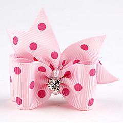 お買い得  猫の服-ネコ 犬 ヘアアクセサリー ボウ 犬用ウェア レッド グリーン ブルー ピンク 濃い紫色 テリレン コスチューム ペット用 結婚式