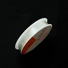 0.5mm beadia abalorios estiramiento elástico de alambre pulsera collar de cordón de cristal& enhebrar hallazgos bricolaje 5 rollos