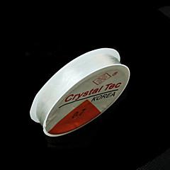 beadia 0,7 mm elastisk stretch beading krystal snor halskæde armbånd wire& tråd DIY fund 5 ruller (apx 10m / rulle)