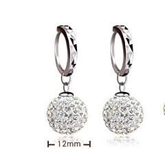 Earring Drop Earrings Jewelry Women Wedding / Party / Daily / Casual Silver / Sterling Silver 2pcs Silver