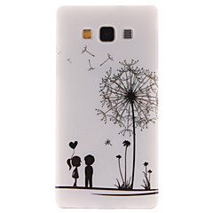 Varten Samsung Galaxy kotelo Kuvio Etui Takakuori Etui Voikukka TPU Samsung A5