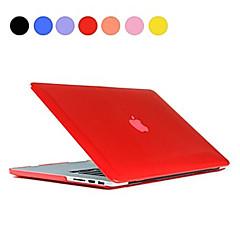 Недорогие Аксессуары для MacBook-сплошной цвет тонкий кристалл фолиант случае полное тело для MacBook Air 11,6 дюйма (ассорти цветов)