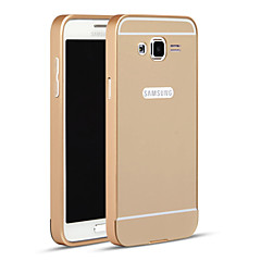 For Samsung Galaxy etui Andet Etui Bagcover Etui Helfarve Metal for Samsung Grand Prime