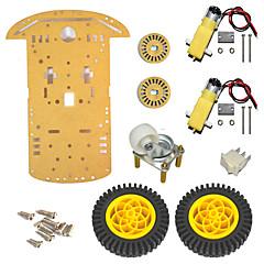 abordables Piezas de Bricolaje y Manualidades-/ 20 sensor de velocidad / línea para el robot Arduino flor cuerpo de la rueda