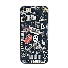 abordables Fundas para iPhone 4s / 4-Funda Para Apple iPhone 7 / iPhone 7 Plus / iPhone 6 Plus Diseños Funda Trasera Palabra / Frase Dura ordenador personal para iPhone 7 Plus / iPhone 7 / iPhone 6s Plus