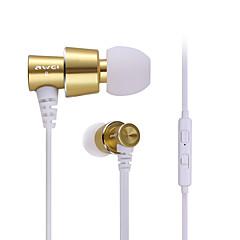AWEI - S60Hi - Fejhallgatók (fejpánt) - Vezetékes - Mikrofonnal/DJ/Hangerő szabályozás/Játszás/Sport/Zajcsökkentő/Hi-Fi -