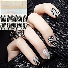 Абстракция/Свадьба - 3D наклейки на ногти - Пальцы рук - 15X7.5X0.3 - 2 - Прочее