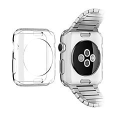 TPU funda protectora de color transparente para Apple Watch 3 series 2 1 iWatch (42mm 38mm)