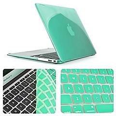 billige Tastaturdækkener til Mac-ensfarvet nyeste krystal fuld krop tilfældet med tastatur cover til MacBook Air 11,6 tommer (assorterede farver)