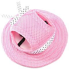 Pisici Câine Bandane & Pălării Îmbrăcăminte Câini Nuntă Modă Solid Rosu Albastru Roz Dungi Alb/Roz