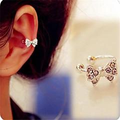 Női Fül Mandzsetta jelmez ékszerek Hamis gyémánt Ötvözet Bowknot Shape Ékszerek Kompatibilitás Napi