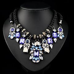 Duży (Kryształ górski/Sztuczna perła/Biżuteria pozłacana Vintage/Urocza/Imprezowa/Do biura/Na co dzień