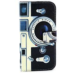 Varten Samsung Galaxy kotelo Korttikotelo / Lomapkko / Tuella / Flip Etui Kokonaan peittävä Etui Piirros Tekonahka SamsungS6 edge / S6 /